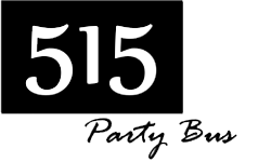 Party Bus Des Moines – 515PartyBus – Iowa Logo